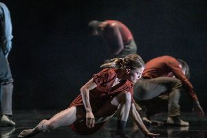 The Rambert dancers have produced a dazzling triple bill