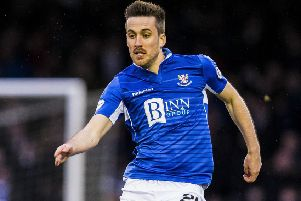 The spirit in the St,Johnstone dressing room is now bouyant sats Callum Booth. Picture: SNS.