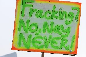 Fracking prompted protests even before the full extent of methane emissions from the process was known (Picture: Michael Gillen)
