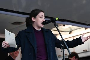 Mhairi Black defended the visit