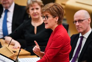 Nicola Sturgeon insisted that the out-of-hour changes are temporary