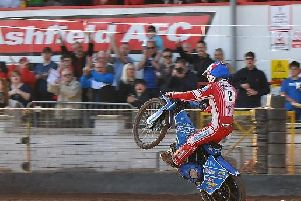 Glasgow Tigers rider Lewis Kerr will be out to wow the crowds against Scottish rivals Edinburgh (pic by George Mutch)
