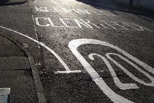 Residents would like yellow lines or signage like that found in Torbrex Road