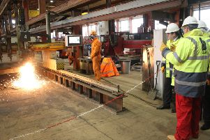 There was an announcement of a new contract for the Arnish site this week, which will see the yard busy until September, however there are rising concerns about securing more contracts for the BiFab yards in the future.