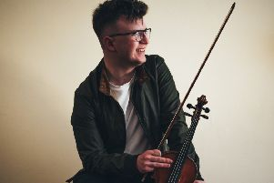 Fiddle player Benedict Morris will be playing the HebCelt Festival this summer.