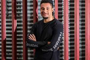 Jermaine Hylton can't wait to get going at Motherwell (Pic courtesy of Motherwell FC)