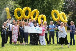 Members of a National Lottery syndicate at Kelso firm Icom-Scottech are now sharing a �1m win 19 ways.