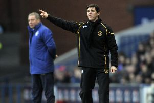 Berwick Rangers manager Ian Little