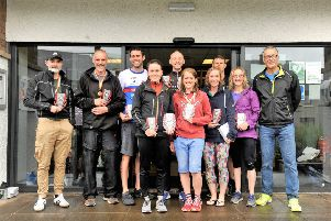 Winners from the Kelso Coome & Tri.