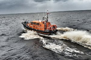 Lifeboat on way to call out. (photo: RNLI)