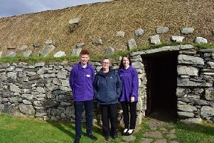 Volunteer-led sessions are part of Historic Environment Scotland's Gaelic Volunteer Programme.