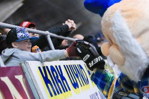 Fife Flyers v Nottingham Panthers Play-offs 2013 (Pic: Steve Brown)