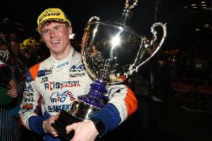 Rory Butcher lifted silverware at Brands Hatch last weekend. Pic: Jakob Ebrey
