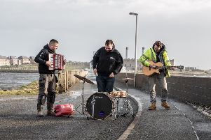 Despite their celeb standing, all three members are still holding down full-time jobs.  Fisherman Callum 'Boydie' MacLeod is on guitar and vocals, electrician Innes Scott is on the accordion and delivery driver Uilleam 'Uilly' MacLeod is on drums.