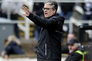 Ian McCall says his Partick Thistle side's performance at former club Ayr was unacceptable.
