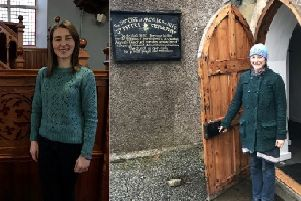 Joanna George  (of St Peter's Church) pictured right and Mairianne Campbell (of the Free Church) pictured left recently completed their training to become certified as Facilitators.