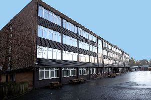 The current Galashiels Academy