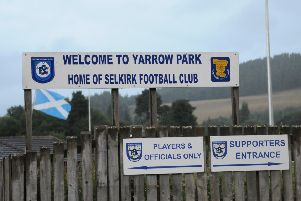 The entrance to Yarrow Park.