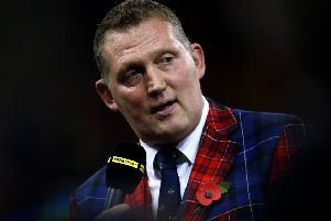 Borders rugby legend Doddie Weir. (Photo by Charlie Crowhurst/Getty Images)
