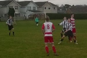 Melrose, in black and white stripes, enjoyed a fine win after the festive season break.