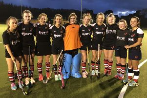 Fives stars - the Fjordhus Reivers hockey squad.