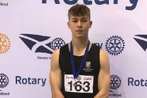 Great win for Finn - Finn Douglas of TLJT Athletics Club and EarlstonHigh School.