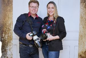 John and Sandra Parris, of Hawick's Parris Photography, are celebrating 20 years in business.