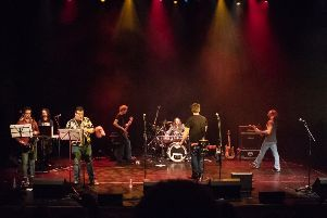 Frank Zappa Tribute Band 'Pygmy Twylyte' head for The Eastgate Theatre, Peebles, on February 23.
