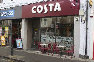 Costa is one of the latest additions to Hawick's expanding array of cafes.