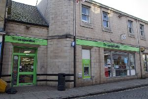 The Co-op in Roxburgh Street, Kelso.