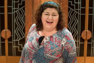 Cheryl Fergison's a real-life George Michael fan which, to my mind, makes her even more likeable! And she's also a Falkirk bairn, sort of.