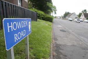 Howden Road in Jedburgh.