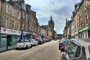 The Scottish Government is splashing the cash on helping high streets such as Hawick's cope with loss of trade to out-of-town and online retailers.