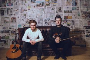 BBC Radio 2 Folk Award Winners head to Innerleithen for an exclusive Borders date on their only 2019 Tour. 'Two time BBC Radio 2 Folk Award winners Greg Russell and Ciaran Algar are heading for Innerleithen Memorial Hall on Friday, March 8 thanks to On The Brinck Promotions.