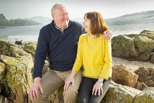 Not just a survivor but a fighter, John Withers and proud wife Sharon
