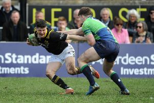 Melrose 7s match action -  and this year's occasion could be enriched if Kelso's venue wins UK rugby pub of the year.