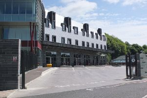 Galashiels bus station.