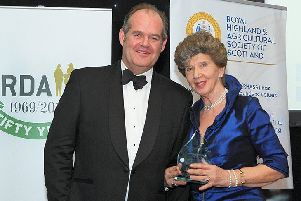 Susie Elliot MBE and Ed Bracher chief executive of RDA national.