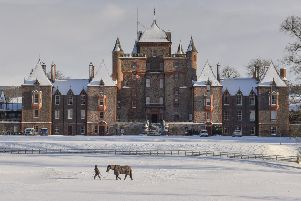 Thirlestane Castle at Lauder.