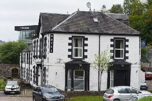 Abbotsford Arms Hotel in Galashiels.