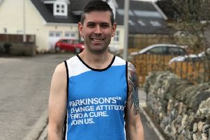 Andy Musselwhite will run the marathon in memory of his dad and to raise funds for Parkinson's UK