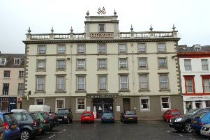 The Cross Keys Hotel in Kelso.
