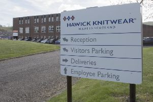 Hawick Knitwear's Burnfoot Industrial Estate base.