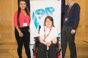 Tanya Thomson, Isabel Headon and Rhys Pearce were all elected to the Scottish Youth Parliament on Friday.