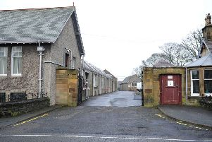 The March Street Mills site in Peebles.