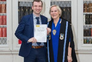 Tim Taylor, solicitor at Notary Public with Hastings Legal in Duns, received his Certificate of Enrolment for admission to the Law Society of Scotland's Roll of Solicitors.
