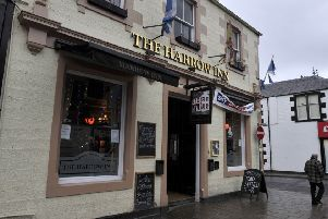 The Harrow Inn in Galashiels.