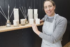 Lesley Landels is preparing to open a new shop at Drumlanrig Square in Hawick.