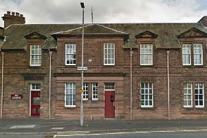 Scottish Borders Council's former offices in Rose Lane, Kelso.