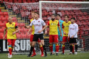 Clyde have lost the points they 'won' after fielding Declan Fitzpatrick against Albion Rovers earlier this season. (pic by Craig Black Photography)